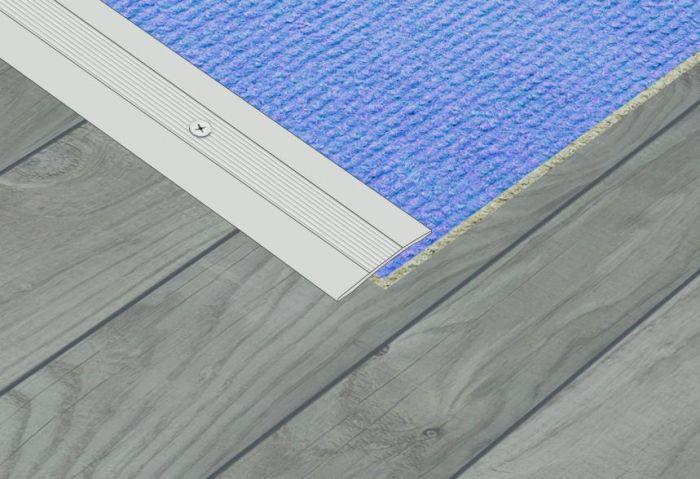 Supadec Aluminium Coverstrip 25X900