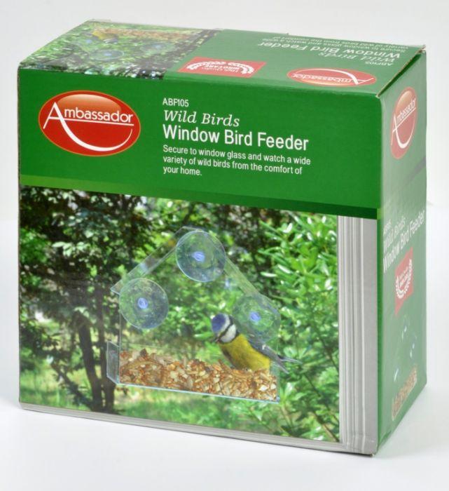 Ambassador Window Bird Feeder