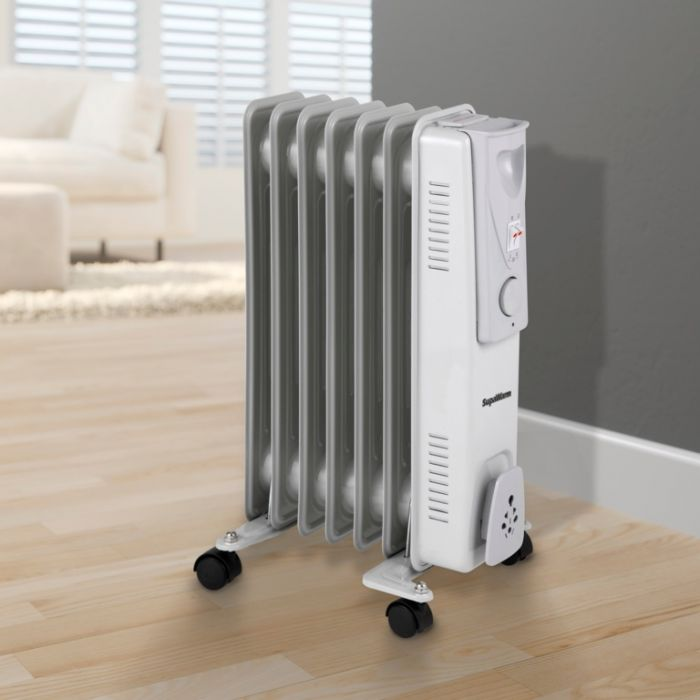 Supawarm Oil Filled Radiator 1500W