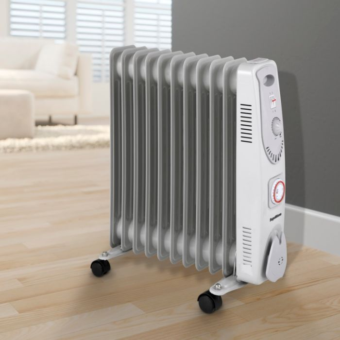 Supawarm Oil Filled Radiator 2500W