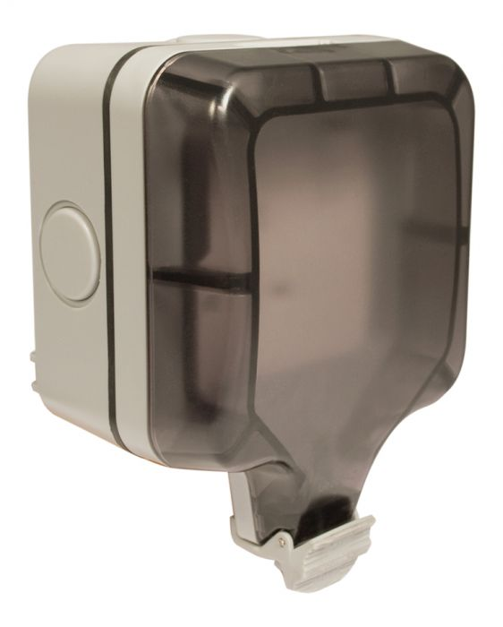 Bg Weatherproof Ip66 1 Gang 13A Dp Switched Socket