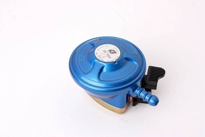 Lifestyle Butane 21Mm Clip On Regulator Blue