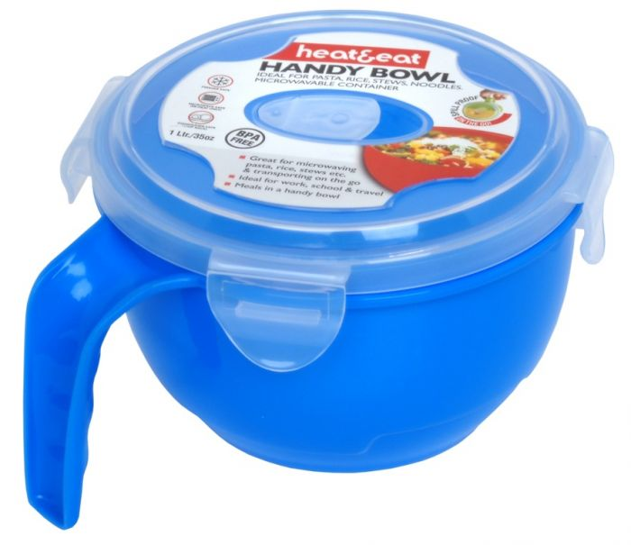 Pendeford Heat & Eat Handy Bowl Assorted Colours