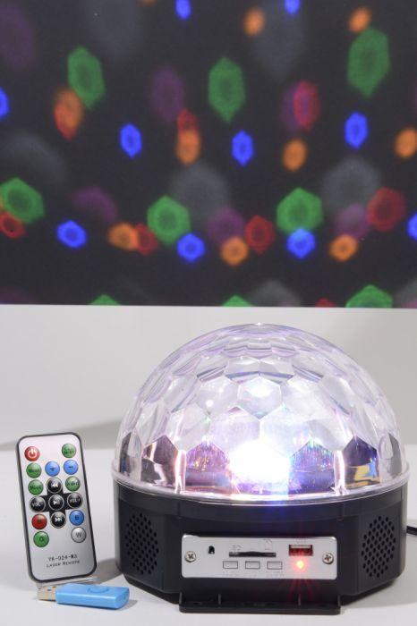 Led Magic Disco Ball With Mp3