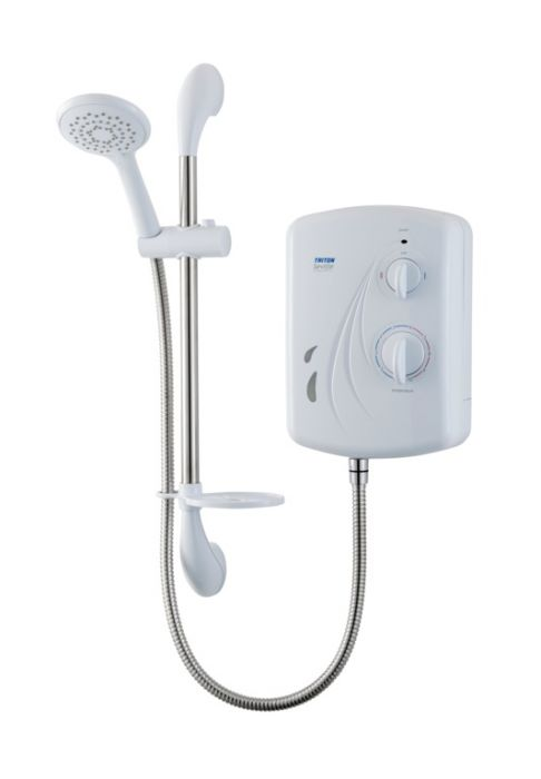 Triton Seville Electric Shower White 8.5Kw