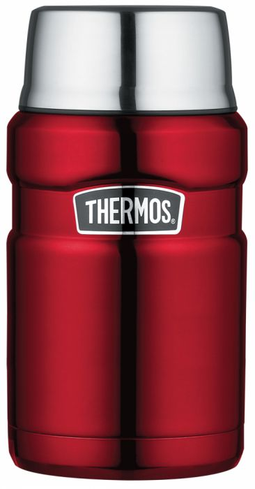 Stainless King Food Flask 0.71L Red