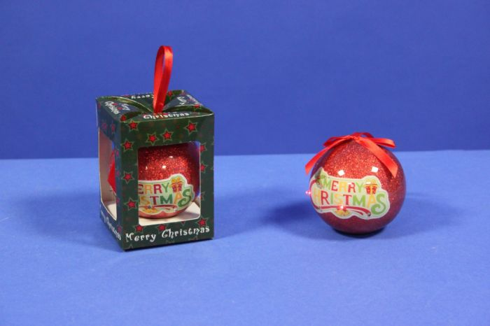Time Smart Merry Christmas Tree Decoration