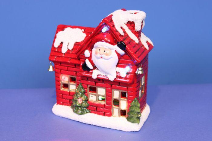 Christmas House With Led Light