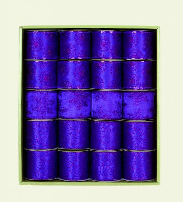 Purple Ribbon 3 Assorted Designs