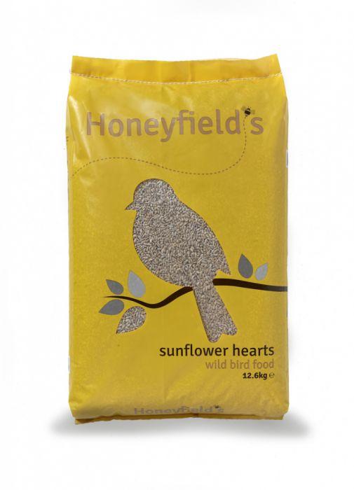 Honeyfield's Sunflower Hearts 12.6Kg