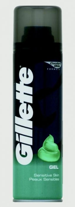 Gillette Shave Gel Sensitive 200Ml