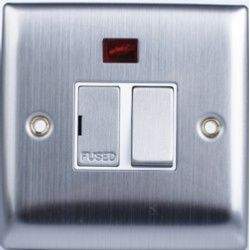 Lyvia Convex Stainless Steel 12A Switch