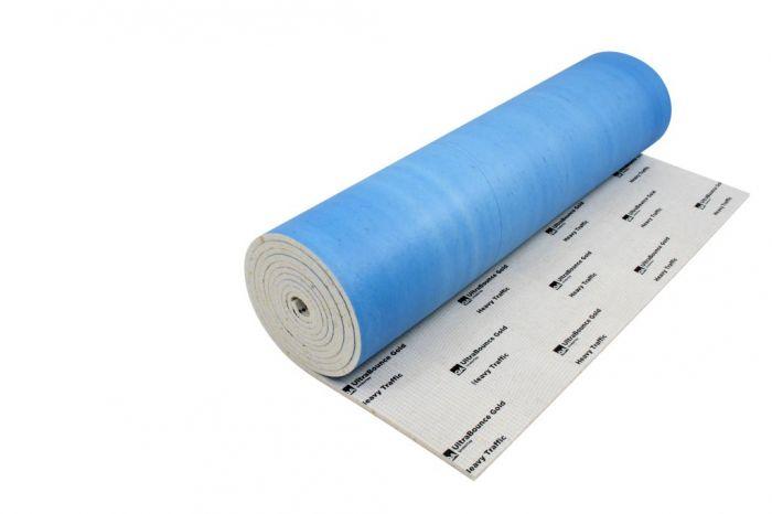 Qa Ultrabounce Gold Carpet Underlay Size: 1.37M X 11M (15.07M2). Thickness:11Mm