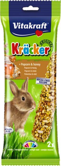 Vitakraft Popcorn-Honey Rabbit Pack 2