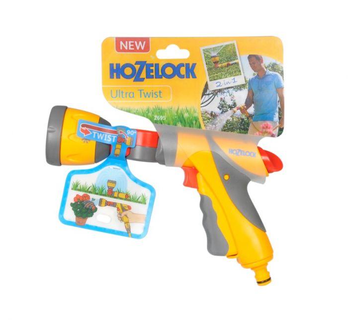 Hozelock Ultra Twist Spray Gun And Sprinkler