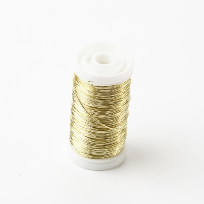 Oasis Metalic Reel Wire Shiny Gold