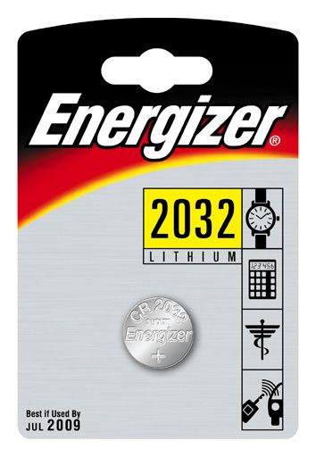 Energizer Lithium Battery Cr2032 Pack 4