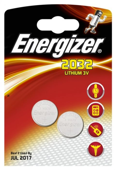 Energizer Lithium Battery Cr2032