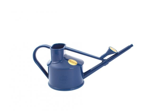 Haws Handy Indoor Plastic Can 0.7L Blue