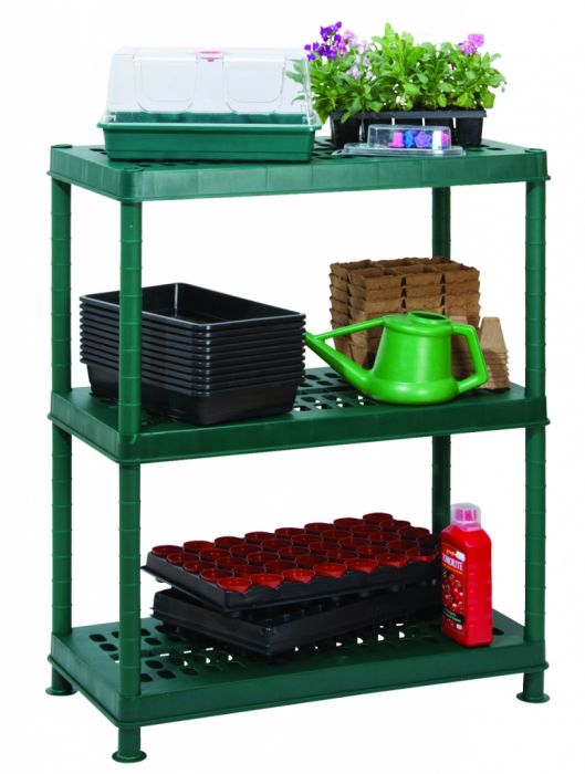 Garland Greenhouse 3 Shelf Unit Ventilated 80Cm