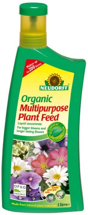 Neudorff Organic Multi Purpose Plant Feed 1L Concentrate