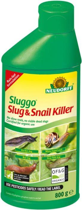 Neudorff Sluggo Slug & Snail Killer 800G