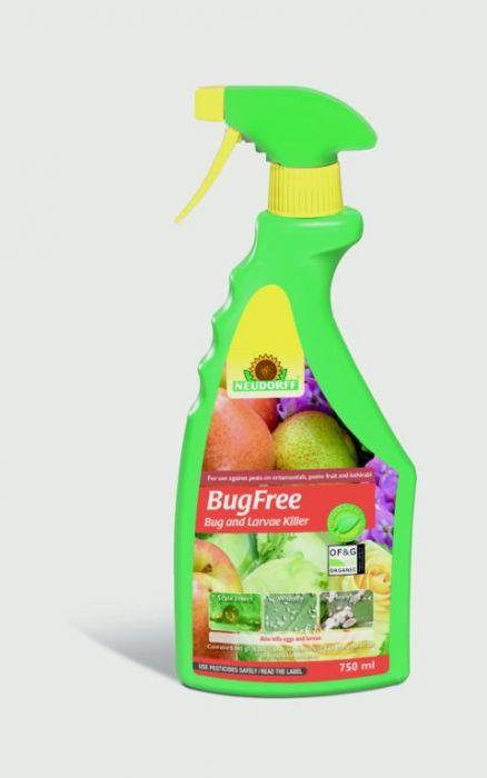 Neudorff Bugfree Bug & Larvae Killer 750Ml