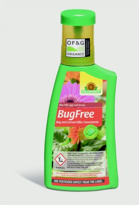 Neudorff Bugfree Bug & Larvae Killer 250Ml Concentrate