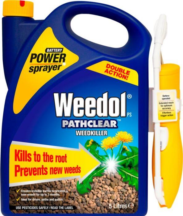 Weedol Pathclear Power Spray Gun! 5L