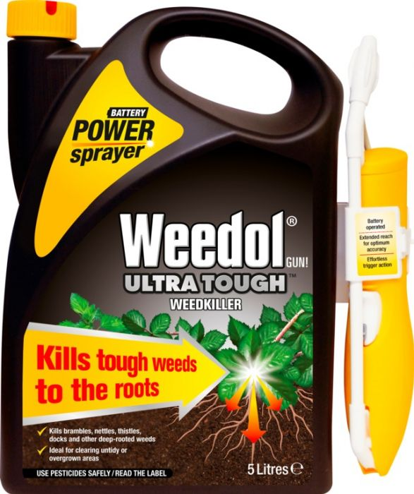 Weedol Ultra Tough Weedkiller 5L Power Spray