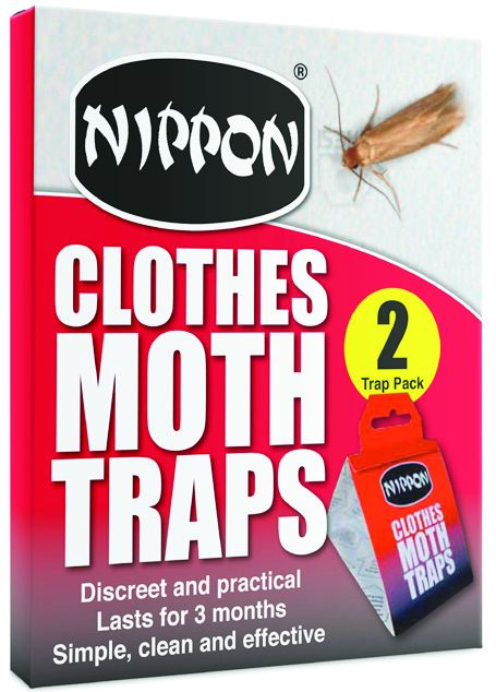 Nippon Clothes Moth Traps Pack Of 2