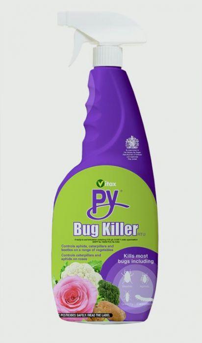 Vitax Py Bug Killer Rtu 750Ml
