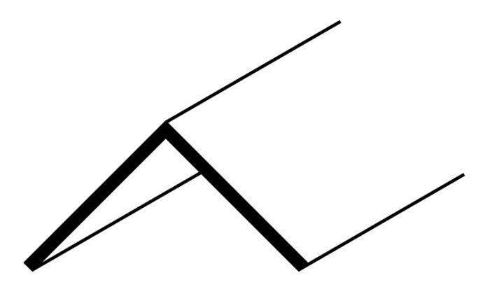 Easyfix Angle 8Ft X 25Mm Black