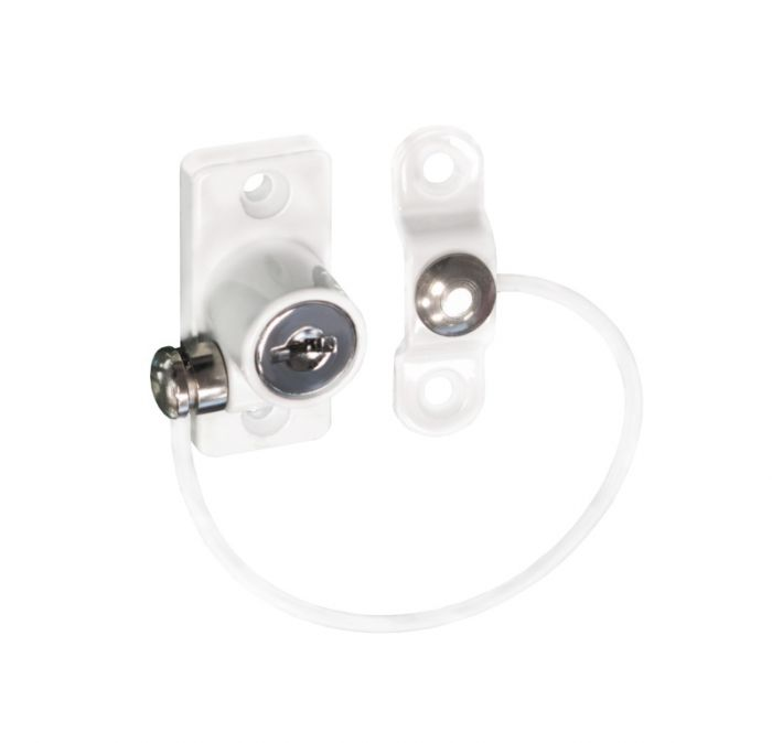 Securit Cable Window Restrictor White