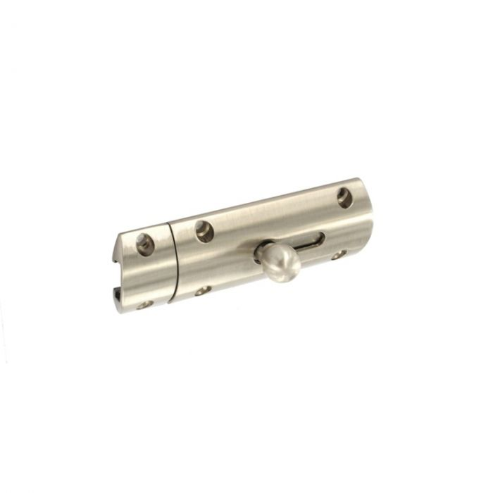 Securit Modern Bolt 75Mm Brass Nickel