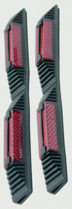 Streetwize Car Door Guard Pair - Black