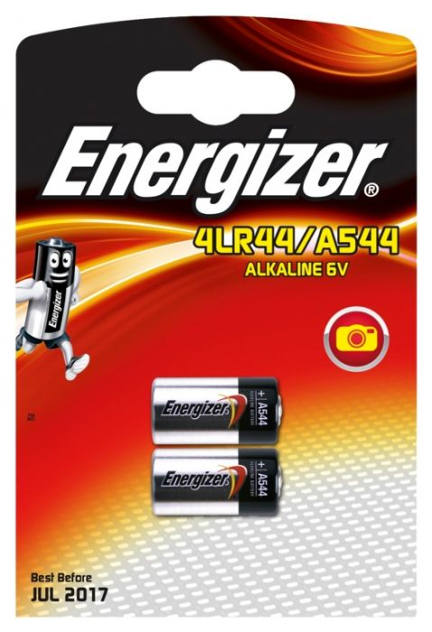 Energizer Alkaline Battery Single A544/4Lr44