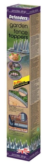 Defenders Prickle Strip Garden Fence Toppers 6 Pack