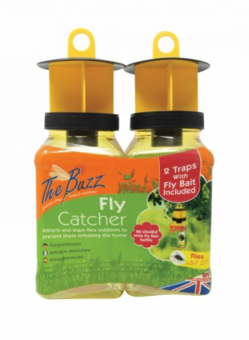 The Buzz Fly Catcher Twinpack