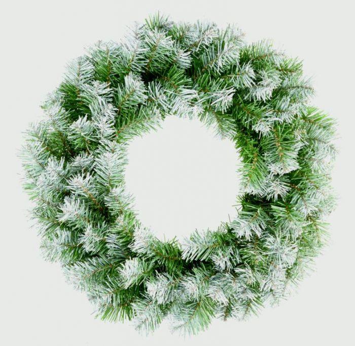 Snow Tips Wreath