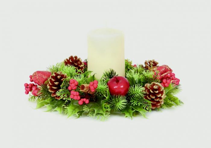 Plastic Candle Ring