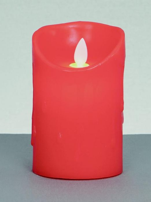Red Dancing Flame Candle