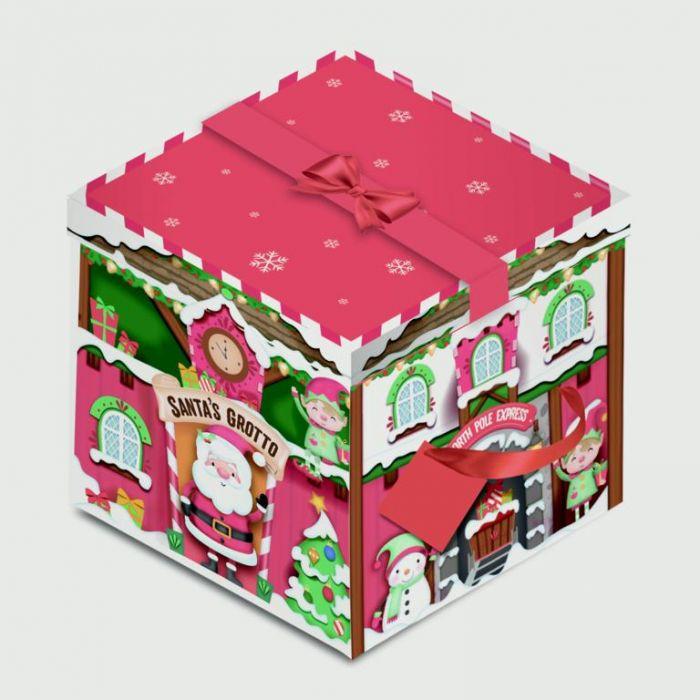 Square Flat Pack Box