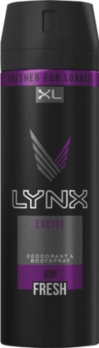 Lynx Body Spray 200Ml Excite
