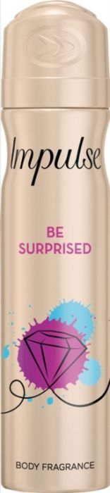 Impulse Body Spray 75Ml Be Surprised