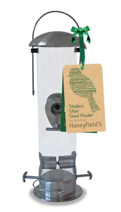 Honeyfield's Heavy Duty Stainless Steel Seed Feeder