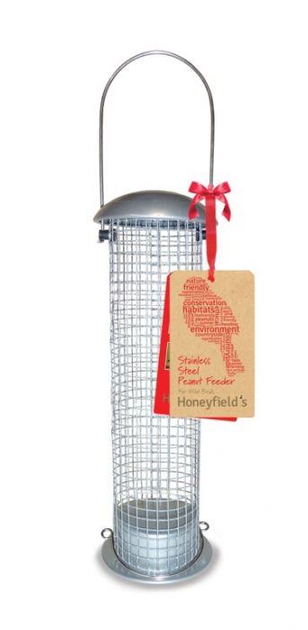 Honeyfield's Heavy Duty Stainless Steel Peanut Feeder