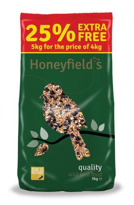 Honeyfield's Quality Wild Bird Food 5Kg