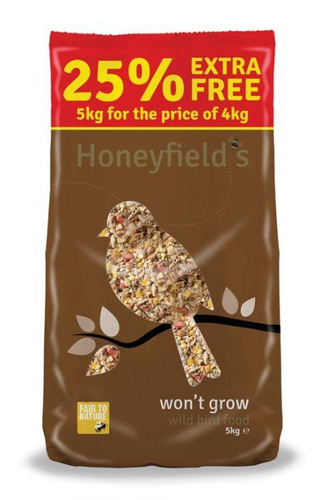 Honeyfield's Won't Grow Wild Bird Food 5Kg