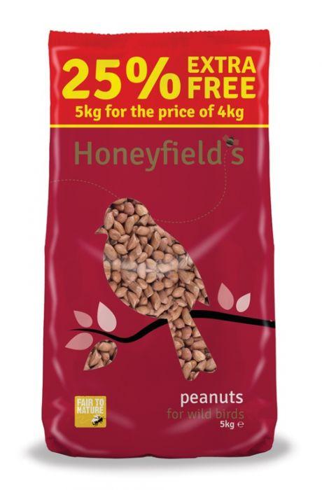 Honeyfield's Peanuts 5Kg